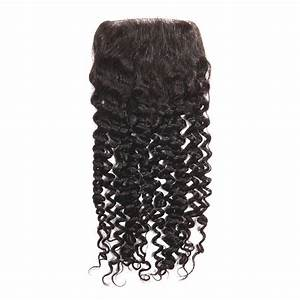 100% Virgin Swiss Lace Closure (Kinky Curly)