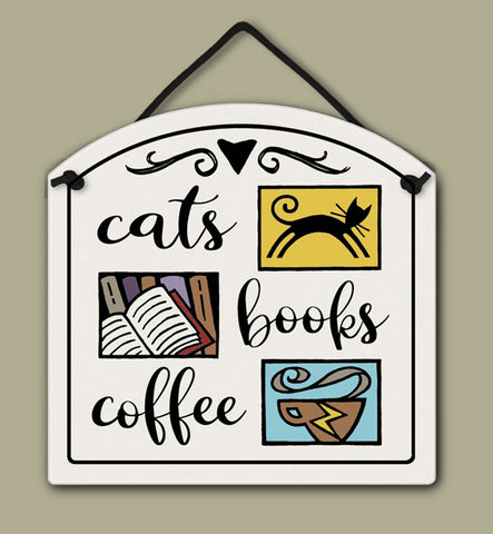 Spooner Creek Small Arch - Cats/Books/Coffee