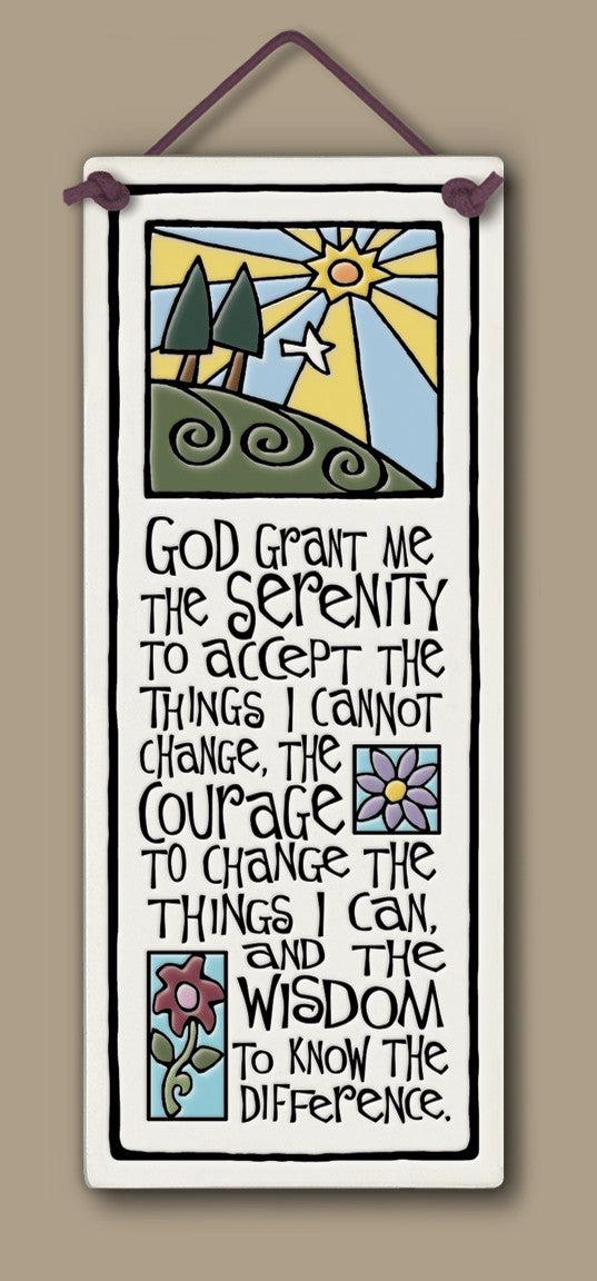 Spooner Creek Large Tall - Serenity Prayer