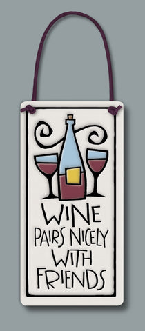 Spooner Creek Wine Tag - Wine Pairs Nicely