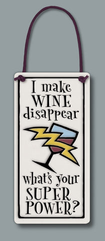 Spooner Creek Wine Tag - Wine Disappear