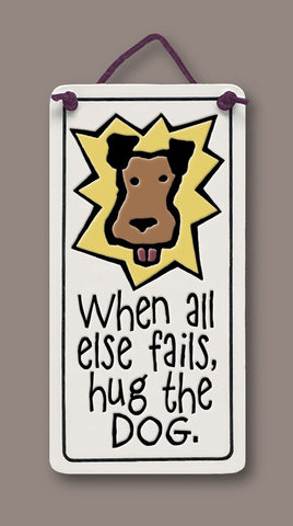 Spooner Creek Mini Charmer - Hug the Dog