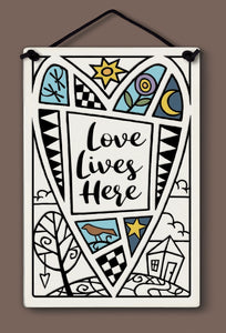 Spooner Creek Large Rectangle - Love Lives Here