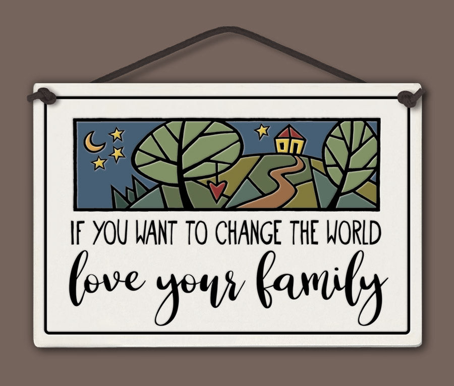 Spooner Creek Large Rectangle - Love Your Family