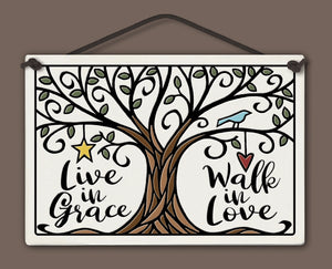 Spooner Creek Large Rectangle - Live in Grace