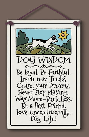Spooner Creek Large Rectangle - Dog Wisdom
