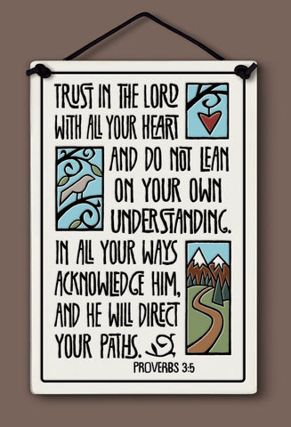Spooner Creek Large Rectangle - Trust in the Lord