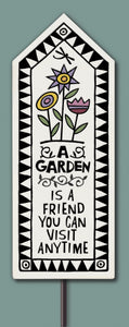 Spooner Creek Garden Tile - A Garden Is