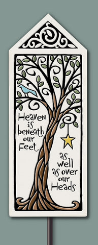Spooner Creek Garden Tile - Heaven is Beneath/Over