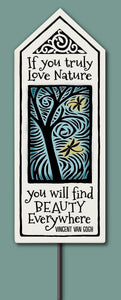 Spooner Creek Garden Tile - Love Nature