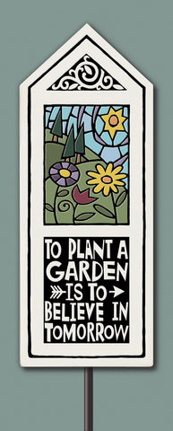 Spooner Creek Garden Tile - Believe in Tomorrow