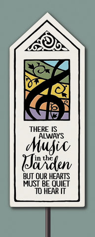 Spooner Creek Garden Tile - Music in the Garden