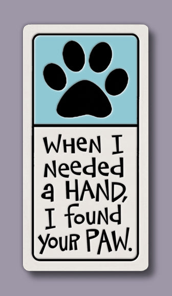 Spooner Creek Magnet - Found Your Paw