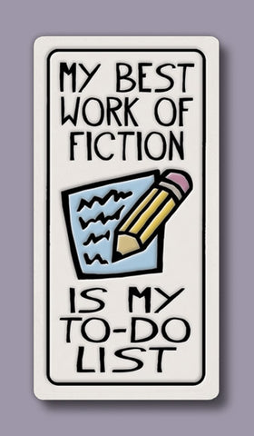 Spooner Creek Magnet - Work of Fiction