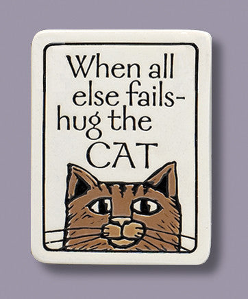 Spooner Creek Magnet - Hug the Cat