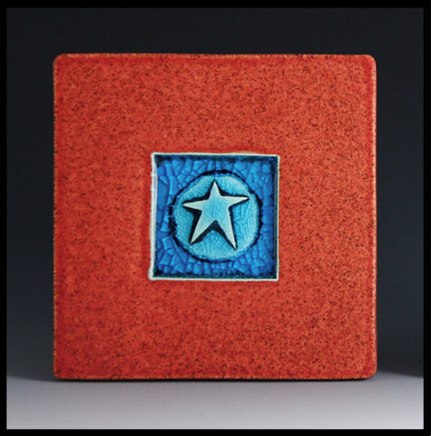 Macone Clay Coaster - Star