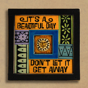 Macone Clay Collage Art - Beautiful Day
