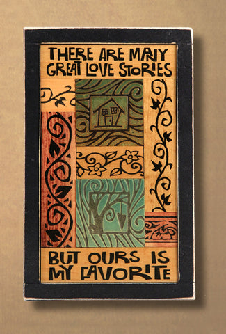Macone Clay Collage Art - Great Love Stories