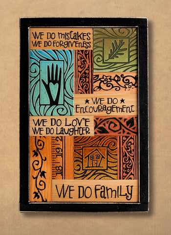 Macone Clay Collage Art - We Do Family