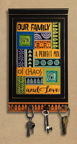 Macone Clay Key Holder - Chaos & Love