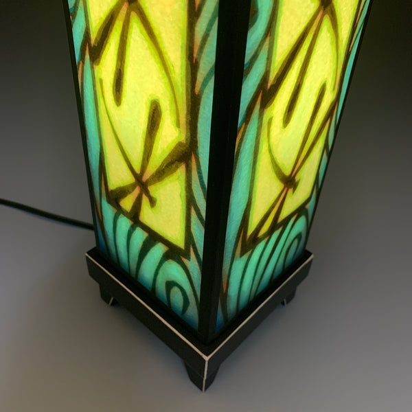 Mood Lamp - Blue Dragonfly