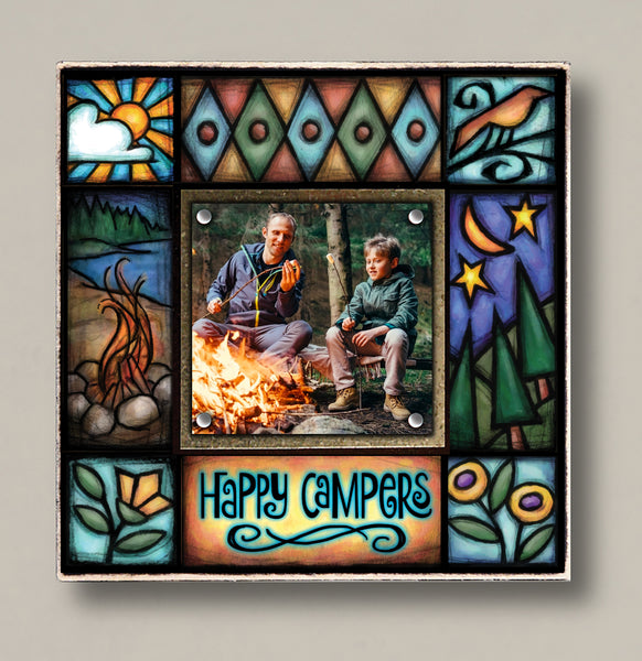 Happy Campers Small Frame