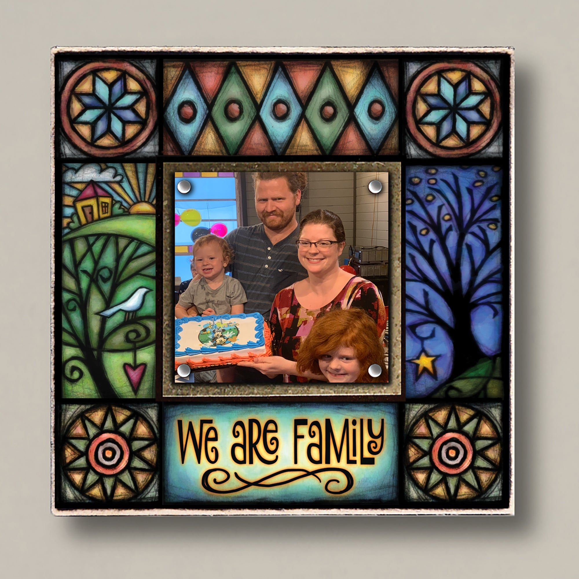 We are Family Small Frame