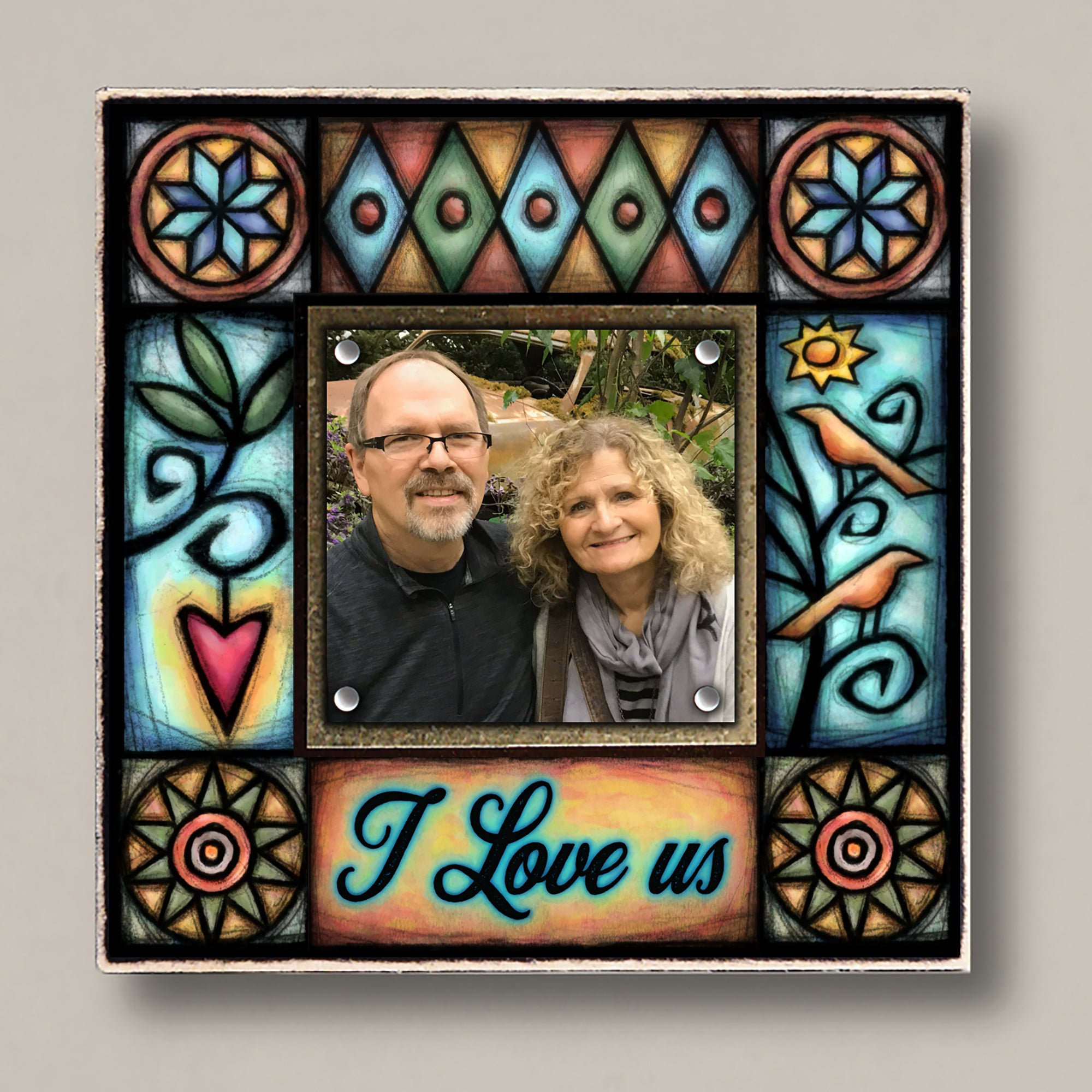 I Love Us Small Frame