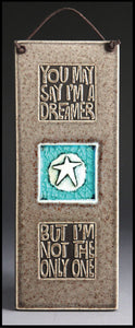 Macone Clay Tile With Glass - Dreamer