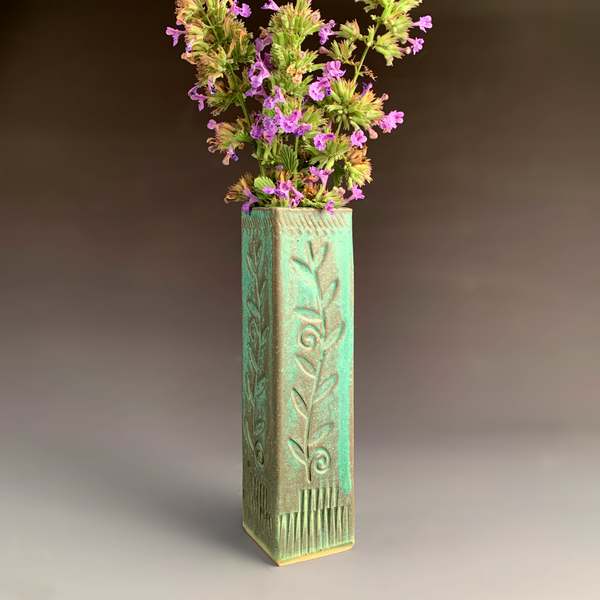 Square Bud Vase - Tall