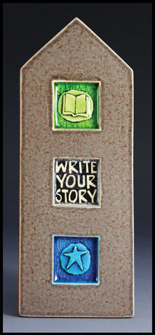 Macone Clay Tile - Write Your Story