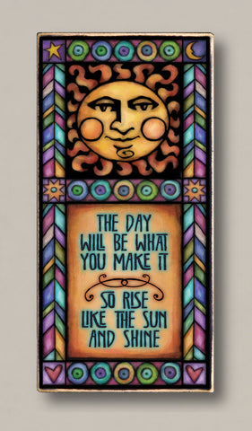 Michael Macone Printed Art - Rise like the sun
