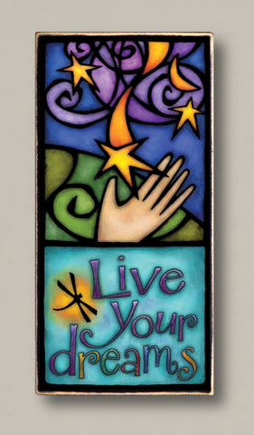 Michael Macone Printed Art - Live Your Dreams
