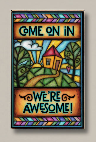Michael Macone Printed Art - Come on In