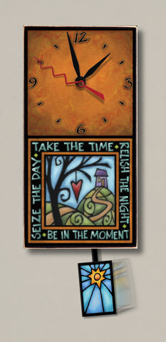Michael Macone Small Clock - Take the Time