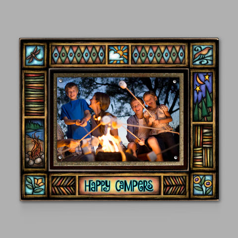 Happy Campers Frame