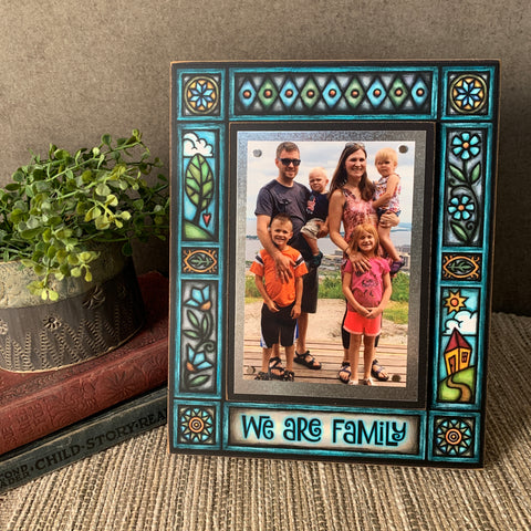 We Are Family Frame