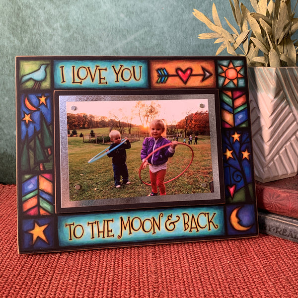 Michael Macone Frame - Love you to moon and back