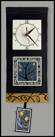 Spooner Creek Clock - Follow Your Heart