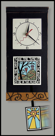 Spooner Creek Clock - Take the Time