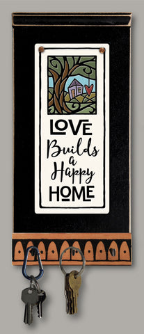 Spooner Creek Key Holder - Love builds
