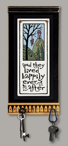 Spooner Creek Key Holder - Happily Ever After