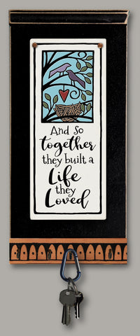 Spooner Creek Key Holder - Together They Built