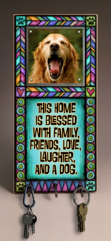 Michael Macone Key Holder - Blessed with Dog