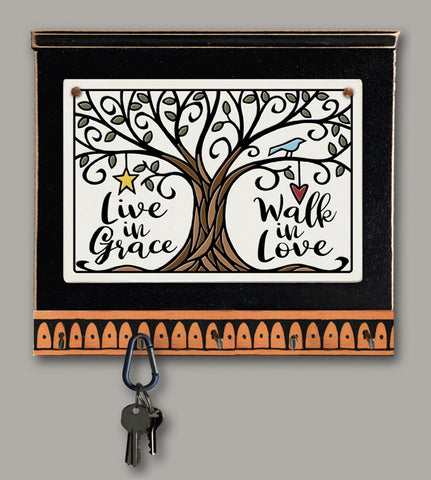 Spooner Creek Key Holder - Live in Grace