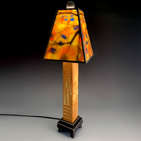 Stained Tree Lamp