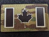 "5""x3.5"" Canadian Flag Patch"