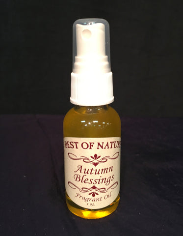 Autumn Blessings Fragrance Oil