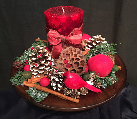 Country Christmas Centerpiece