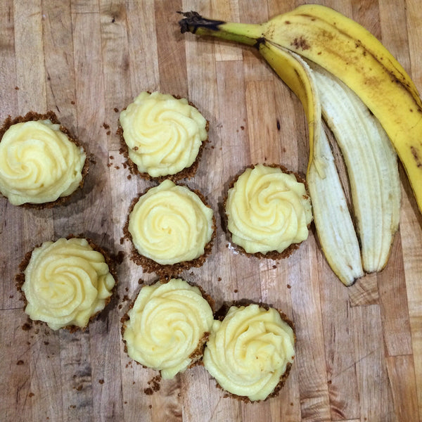 Banana Cream Mini Pie